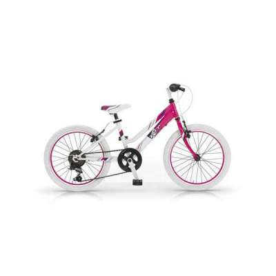 Bicicletta DISTRICT 20 CLASSIC Mtb MBM Bambina Fucsia