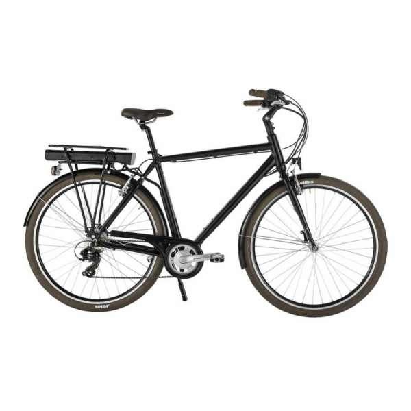 Bicicletta Elettrica Evol A7 Trekking Di Alpina Bike Uomo Nero