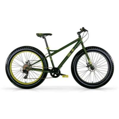 Bicicletta FAT MACHINE MBM Verde