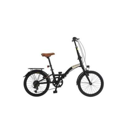 "Bicicletta Folding 20"" 6V. Via Veneto Nero"