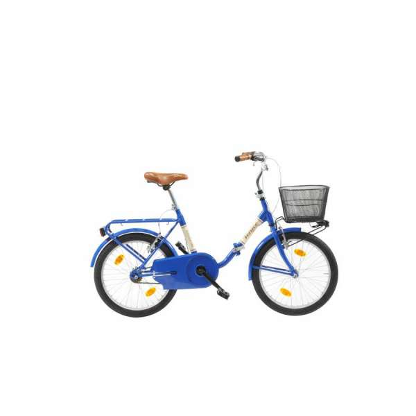 "Bicicletta Folding 20"" Via Veneto Blu"