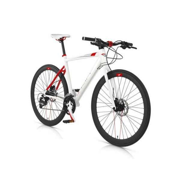 Bicicletta Ibrida Skin Mbm Uomo Bianco