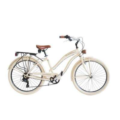 Bicicletta Sun On The Beach Via Veneto Donna Beige