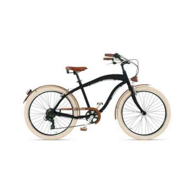 Bicicletta Via Veneto CRUISER CUSTOM Artè Nero Bazam Exclusive Selection
