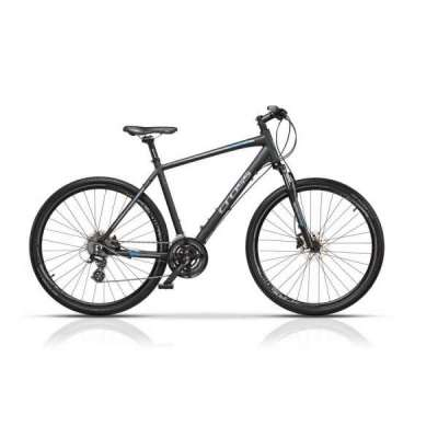 Bicicletta TRAVEL OFF-ROAD Cross Uomo Nero