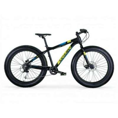 Bicicletta Fat Bike BLACKMAMBA MBM Uomo Nero