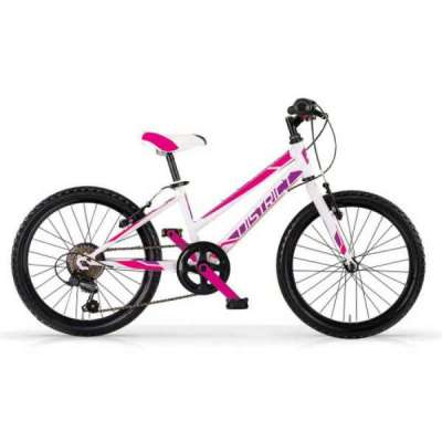 Bicicletta DISTRICT 24 MBM Mtb Bambina Bianco