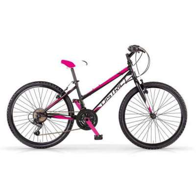 Bicicletta DISTRICT 24 MBM Mtb Bambina Nero