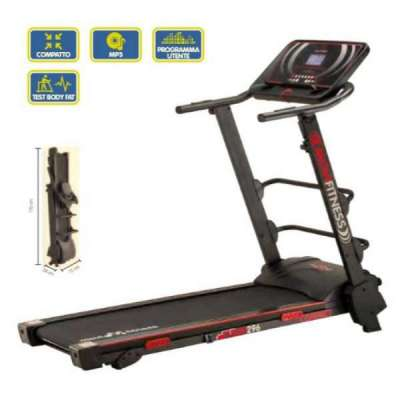 Tapis roulant MF296 di Movifitness con inclinazione manuale