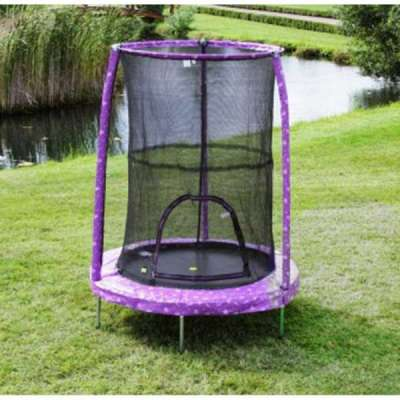 Tappeto elastico MY FIRST TRAMPOLINE diametro 140 cm Princess