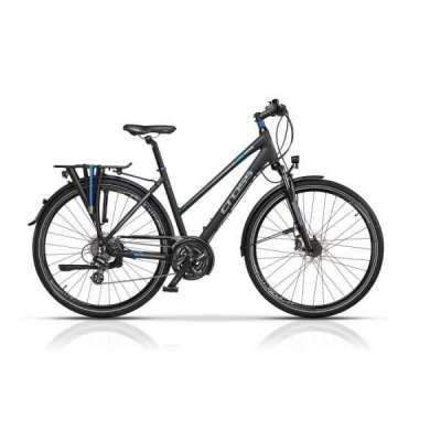 Bicicletta TRAVEL Cross Donna Blu